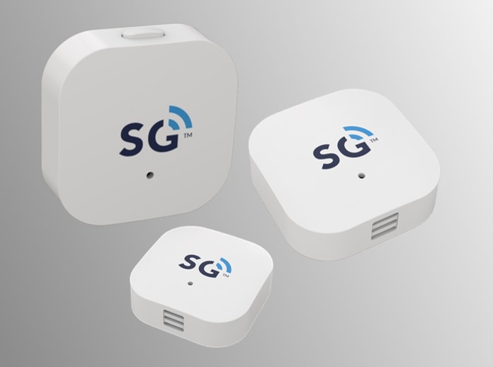 SGW8130 Bluetooth 5/BLE Sensor Tag for temperature, humidity, light sensing and motion tracking in IoT applications
